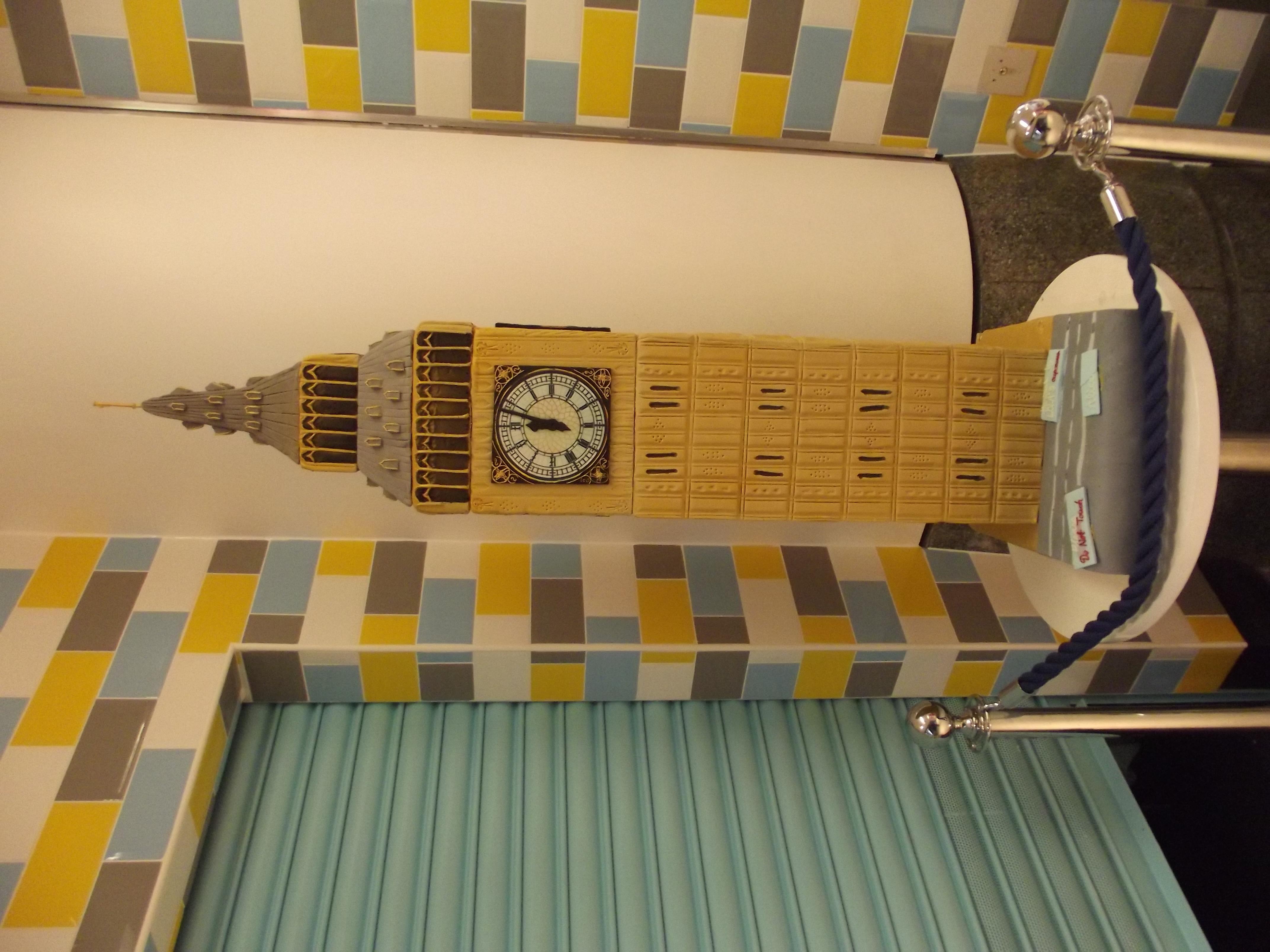 Big Ben - cake - Victoria Place Flickr - Photo Sharing!