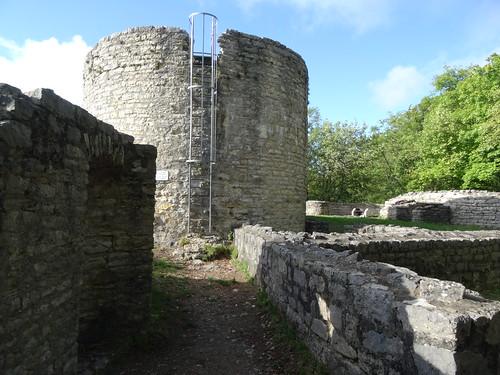 Bischofstein castle ruin