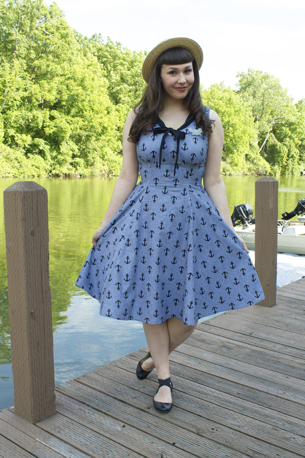 heart of haute anchor dress