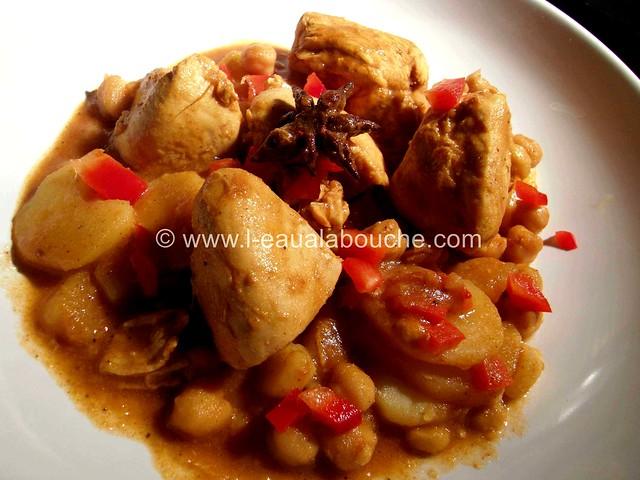 Colombo de Poulet aux Pois Chiches © Ana Luthi Tous droits réservés 22