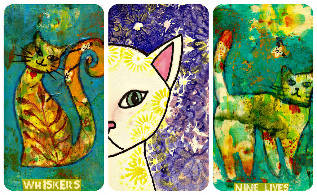 cat icad collage