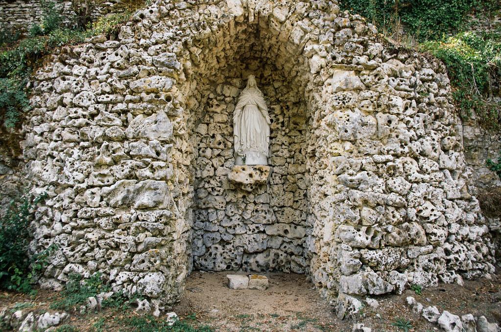 Dans l'Aube, chemins de Compostelle et via Francigena  - Carnet de voyage en France - Une chapelle pour Marie