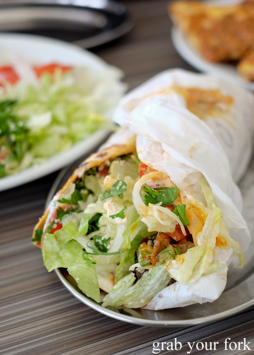 Doner kebab from New Star Kebabs, Auburn
