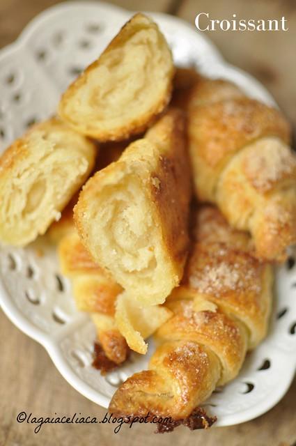 Croissant senza glutine