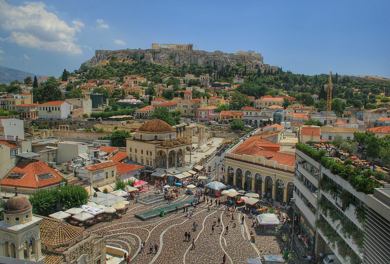View from A is for Athens