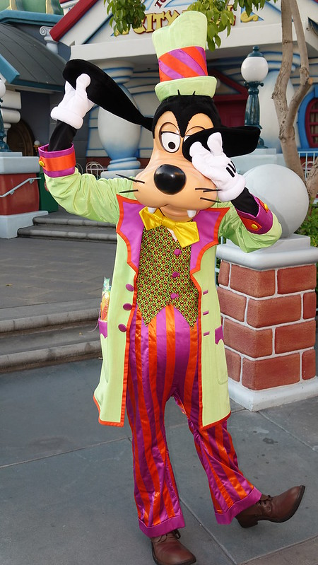 Candy Company Goofy at Disneyland Halloween Party