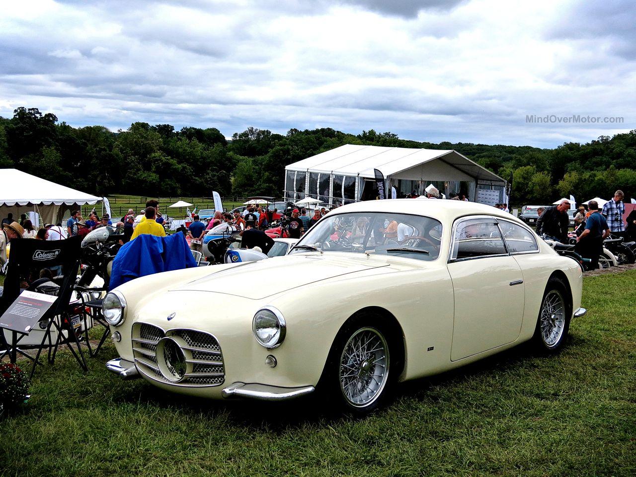Radnor Hunt 2015 White Maserati