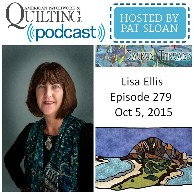 American Patchwork Quilting Pocast episode 279 Lisa Ellis