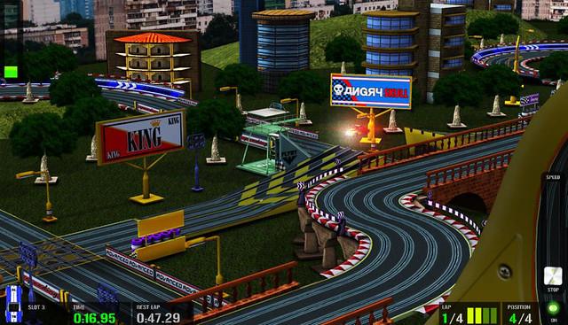 HTR Slot Car Simulation 3