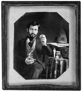 daguerreotype portrait of Serovpe Alishan