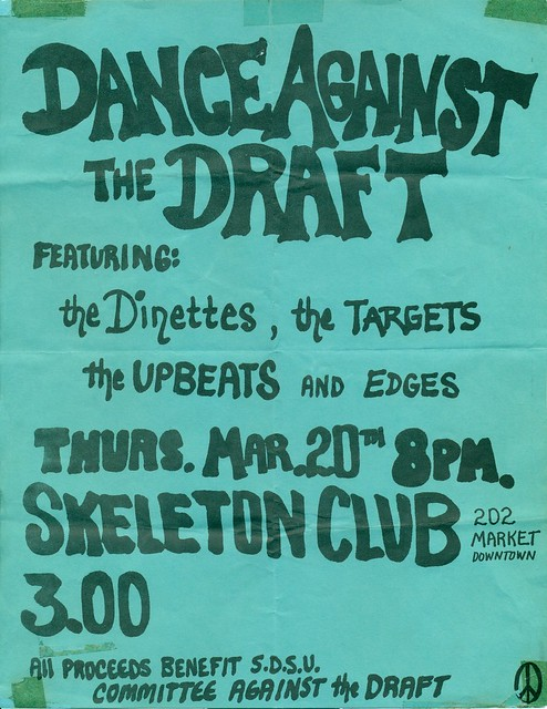 THE DINETTES, TARGETS, UPBEATS and THE EDGES AT THE SKELETON CLUB, SAN DIEGO, CA 1980