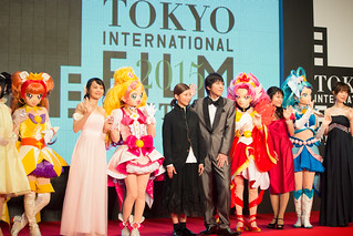 "Casts & Crew from ""Go! Princess Pretty Cure the Movie"" at Opening Ceremony of the 28th Tokyo International Film Festival 
