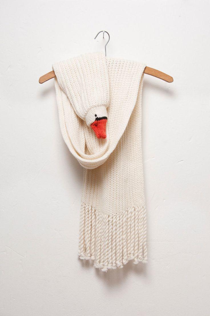 swan scarf