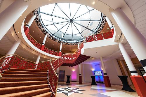 Lobby en Atrium Hotel Figi Zeist Utrecht