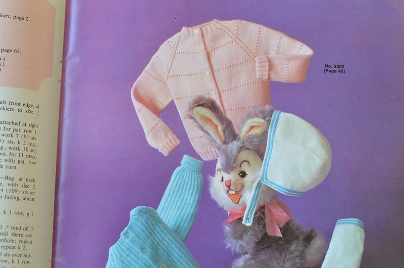 Vintage Baby Cardigan Knitting Pattern