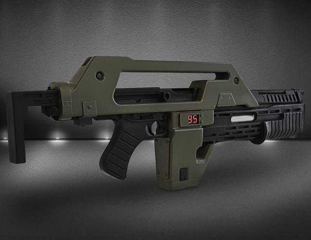宇宙探險必備!《異形2》M41A 電磁脈衝步槍 1:1 複製品