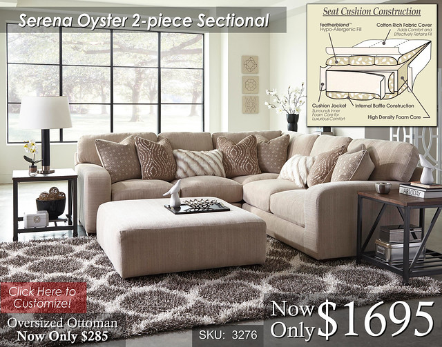 Serena 2 piece Sectional