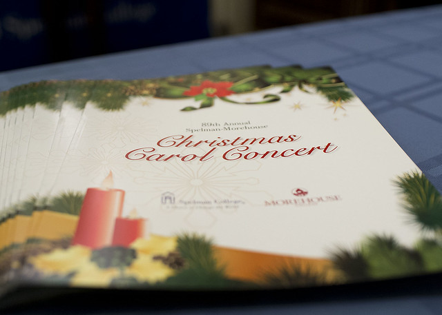 Spelman-Morehouse Christmas Carol Concert 2015