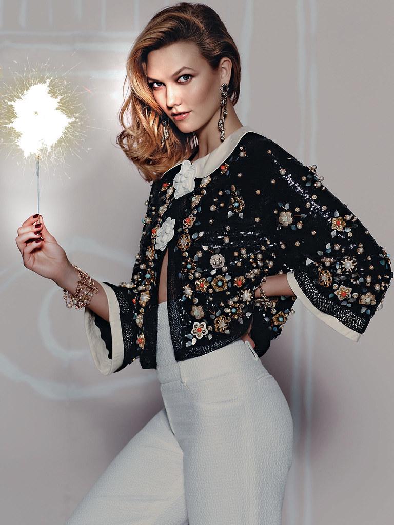 Карли Клосс — Фотосессия для «Vogue» MX 2015 – 11