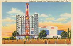 The Du Pont Building of the Exposition - 1939 New York World's Fair