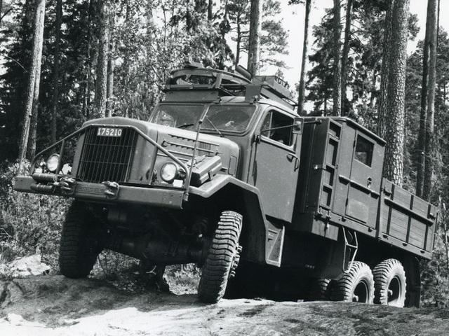 Грузовик Scania LA82. 1961 год