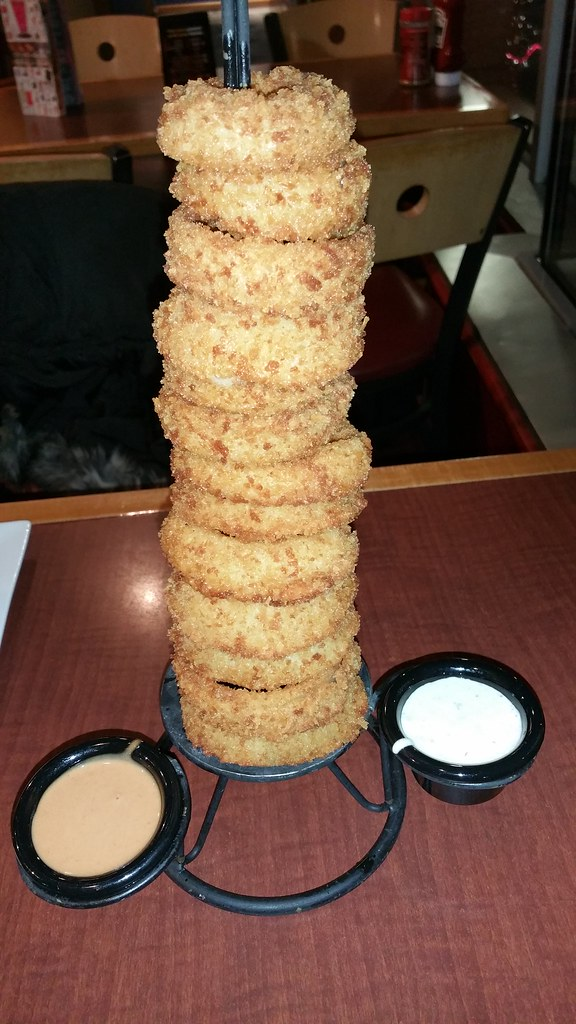 Red Robin onion rings