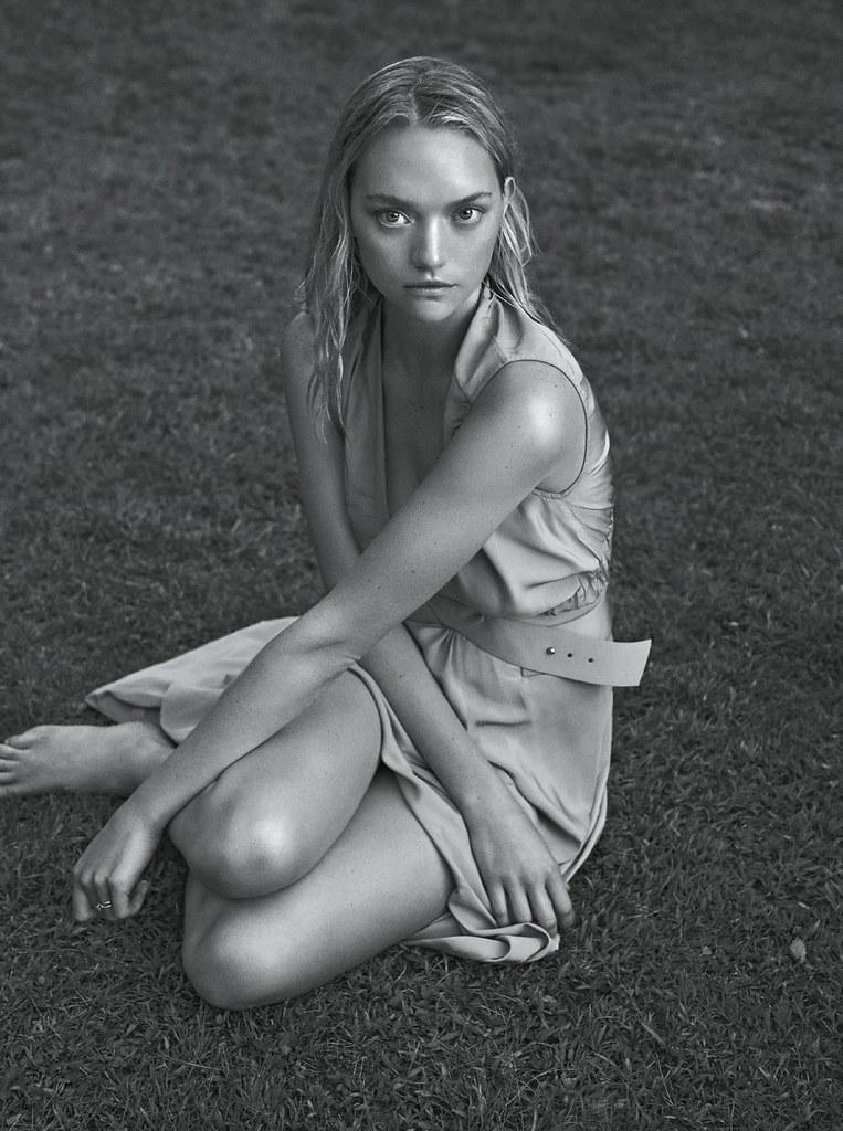 Джемма Уорд — Фотосессия для «Vogue» AU 2015 – 4