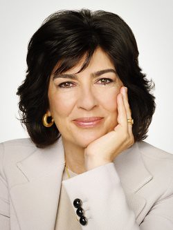 Christiane Amanpour - 2015 Ortega Memorial Joint Silver Medal Recipient