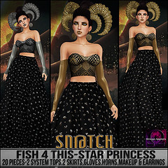 Sn@tch Fish 4 This-Star Princess Vendor Ad SM