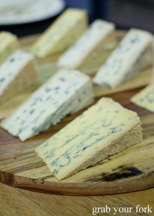 Blue cheese by Berrys Creek at Rootstock Sydney 2015
