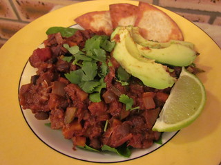 Hole Mole Black Bean Chilli