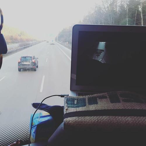 Frontseite rockt! #meinfernbus #berlinichkomme