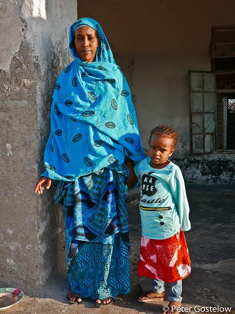 Woman and daughter Berbera
