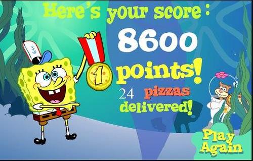 actualit du jeux vid o jeux vid o flash gratuit bob l 39 ponge pizza toss. Black Bedroom Furniture Sets. Home Design Ideas