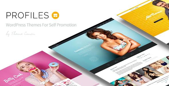 Themeforest Profiles v1.0 - Responsive WordPress Theme