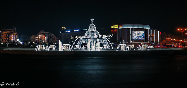 Nocturna - Piata Unirii