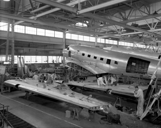 North West Industries airplane plant