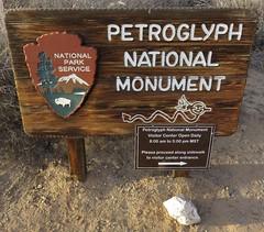 Petroglyph National Monument Sign (Albuquerque, New Mexico)