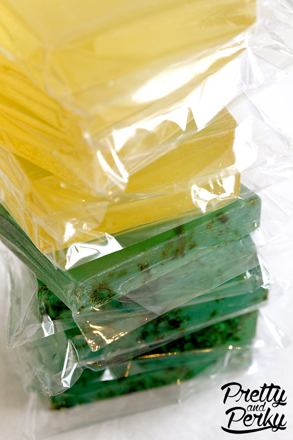 Pretty and Perky Aloe and Sweetgrass Glycerin Soap