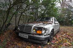 Abandoned Mercedes-Benz W124