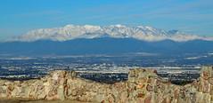 San Gabriel Mountains over Inland Empire, CA 2016 (In EXPLORE)