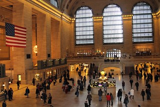 Image of Grand Central Terminal near New York County. kononmark icon iconic grand central terminal station nyc new york city ny indoor countless movie location architect architectural architecture