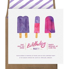 In Brisbane we're still enjoying the most beautiful sunny days, perfect popsicle weather! #birthdayparty #party #stationerydesigner