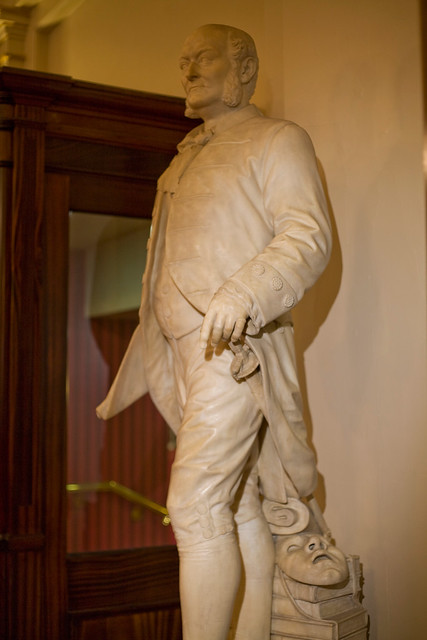 Marble statue of Frederick Gye, former General Manager of the Royal Opera House © ROH, 2012