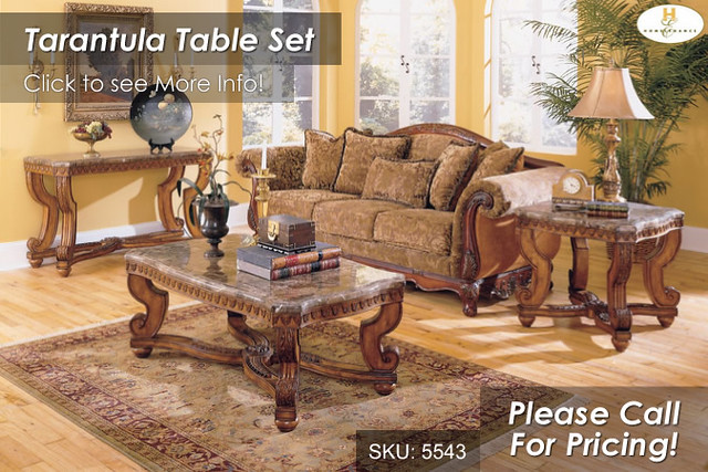 Tarantula Table Collection