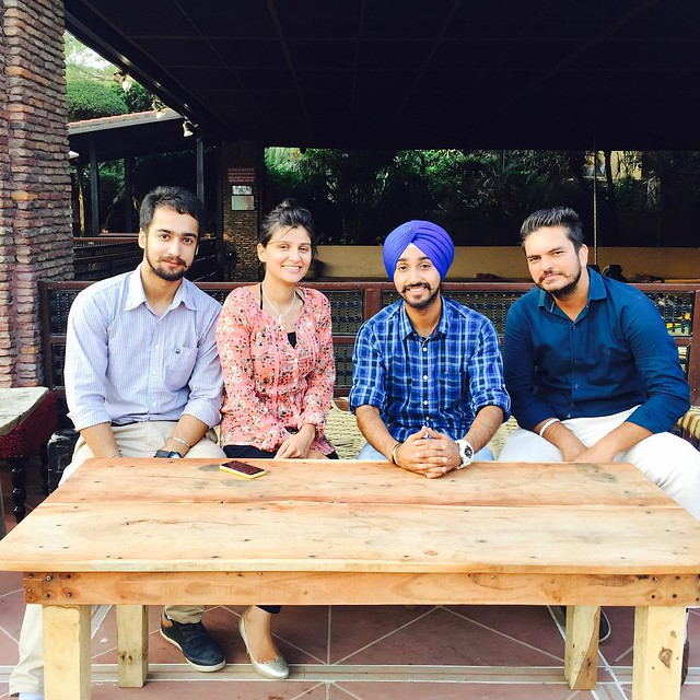 Her birthday was fantastic ! Happy birthday again @bassi_tins  PS - we look like fantastic four #nofilter #turbaninc #turbanPride #blueturban #friends #happybirthday