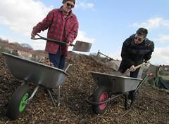 agriculture(0.0), farm(0.0), plough(0.0), cart(0.0), vehicle(1.0), wheelbarrow(1.0),