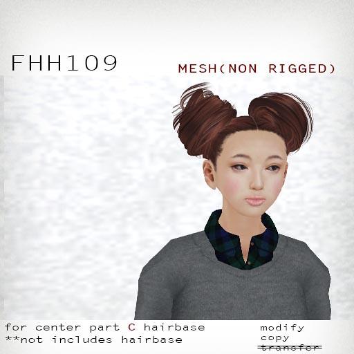 booN FHH109 hair