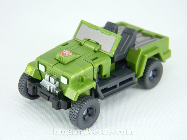 Transformers Hound EZ Collection - modo alterno