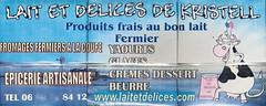 Panneau publicitaire Produits Laitiers - Photo of Yvignac-la-Tour
